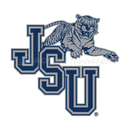 Jackson State Tigers Logo T-shirts Iron On Transfers N4683