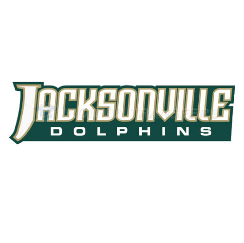 Jacksonville Dolphins Logo T-shirts Iron On Transfers N4685