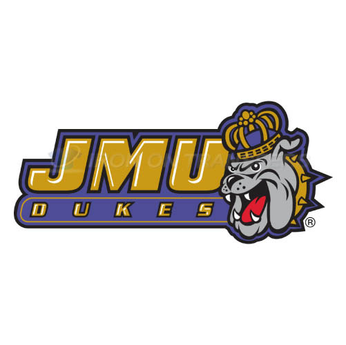 James Madison Dukes Logo T-shirts Iron On Transfers N4694