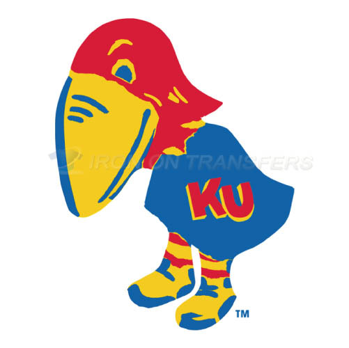 Kansas Jayhawks Logo T-shirts Iron On Transfers N4700