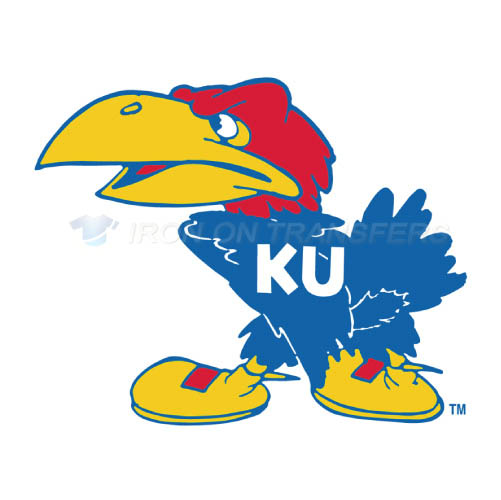 Kansas Jayhawks Logo T-shirts Iron On Transfers N4701