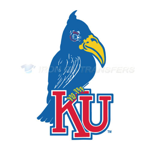 Kansas Jayhawks Logo T-shirts Iron On Transfers N4702