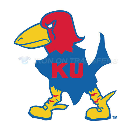 Kansas Jayhawks Logo T-shirts Iron On Transfers N4705