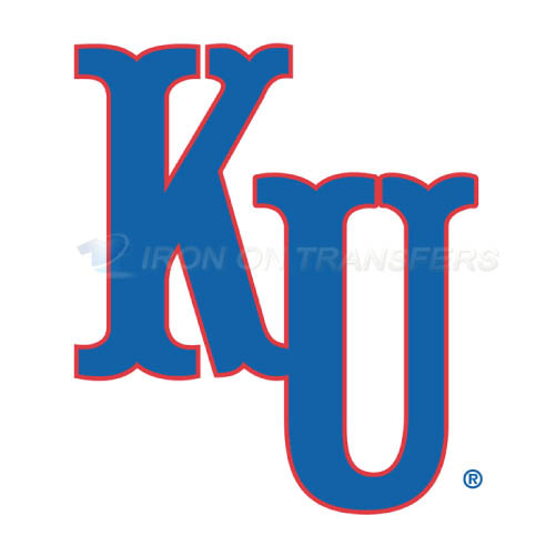 Kansas Jayhawks Logo T-shirts Iron On Transfers N4706