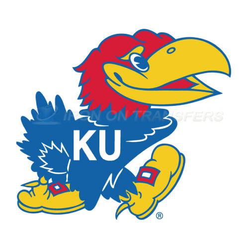 Kansas Jayhawks Logo T-shirts Iron On Transfers N4707