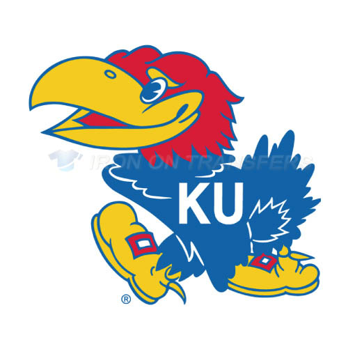 Kansas Jayhawks Logo T-shirts Iron On Transfers N4709