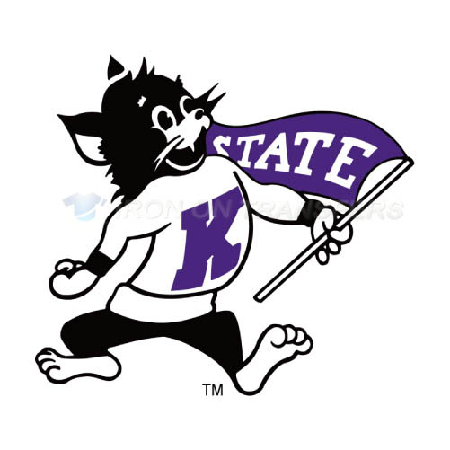 Kansas State Wildcats Logo T-shirts Iron On Transfers N4718
