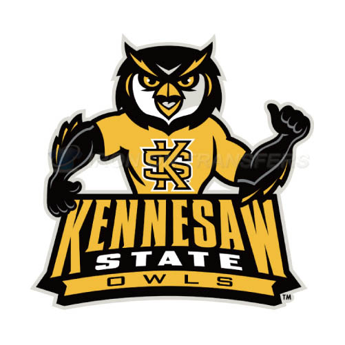 Kennesaw State Owls Logo T-shirts Iron On Transfers N4736