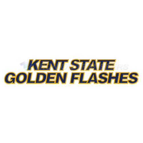 Kent State Golden Flashes Logo T-shirts Iron On Transfers N4739
