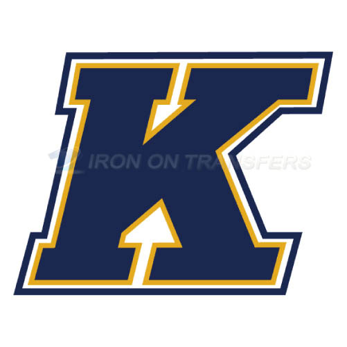 Kent State Golden Flashes Logo T-shirts Iron On Transfers N4740
