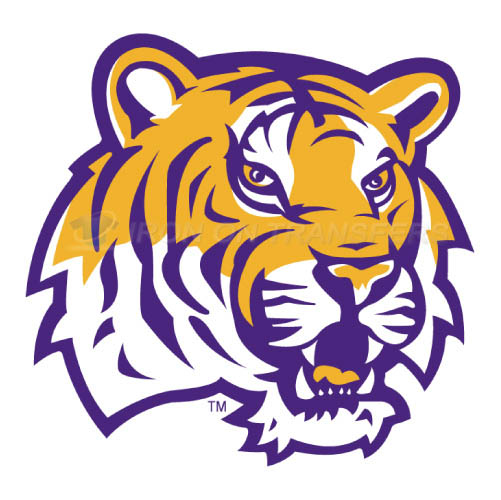 LSU Tigers Logo T-shirts Iron On Transfers N4910