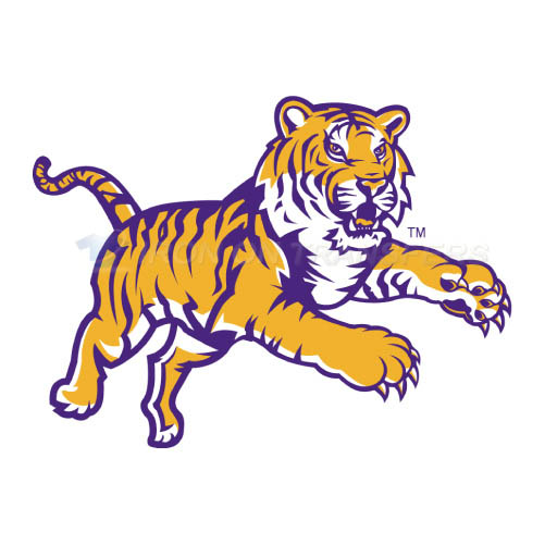 LSU Tigers Logo T-shirts Iron On Transfers N4914