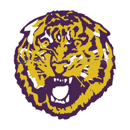 LSU Tigers Logo T-shirts Iron On Transfers N4915
