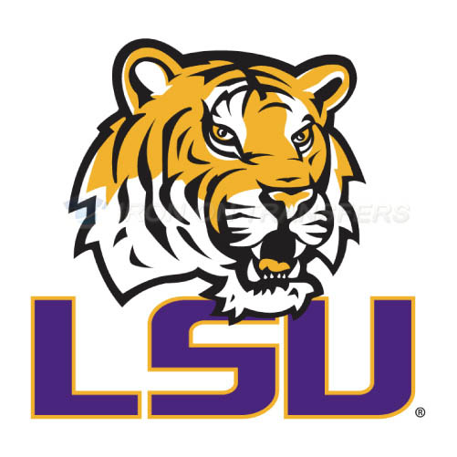 LSU Tigers Logo T-shirts Iron On Transfers N4925