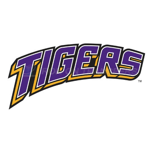 LSU Tigers Logo T-shirts Iron On Transfers N4928