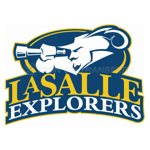 La Salle Explorers Logo T-shirts Iron On Transfers N4752
