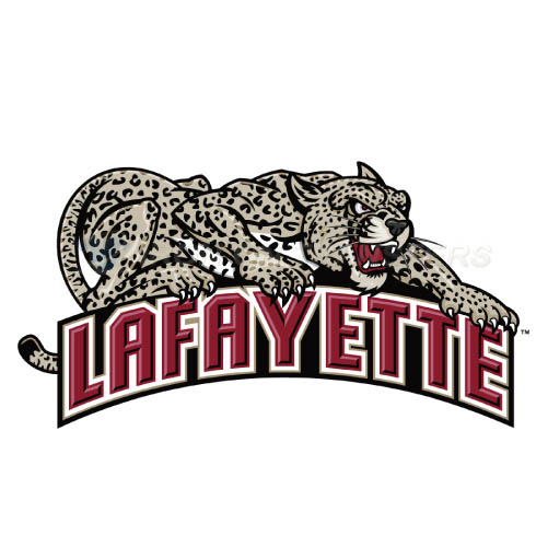 Lafayette Leopards Logo T-shirts Iron On Transfers N4761