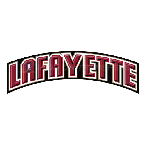 Lafayette Leopards Logo T-shirts Iron On Transfers N4764