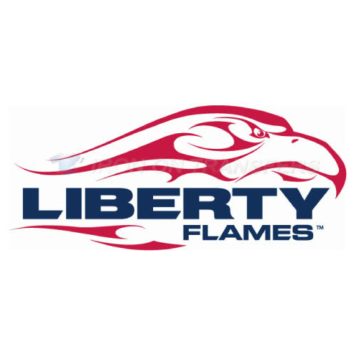 Liberty Flames Logo T-shirts Iron On Transfers N4786