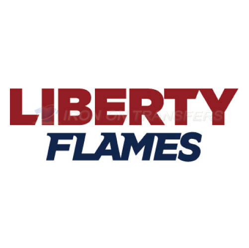 Liberty Flames Logo T-shirts Iron On Transfers N4788