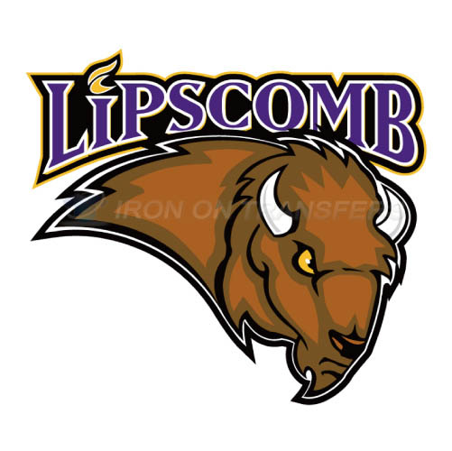 Lipscomb Bisons Logo T-shirts Iron On Transfers N4794