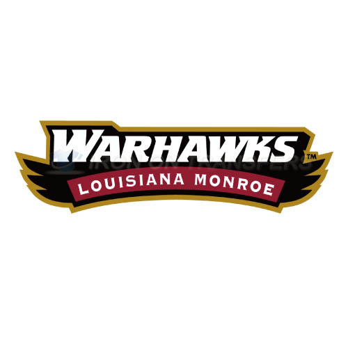 Louisiana Monroe Warhawks Logo T-shirts Iron On Transfers N4818