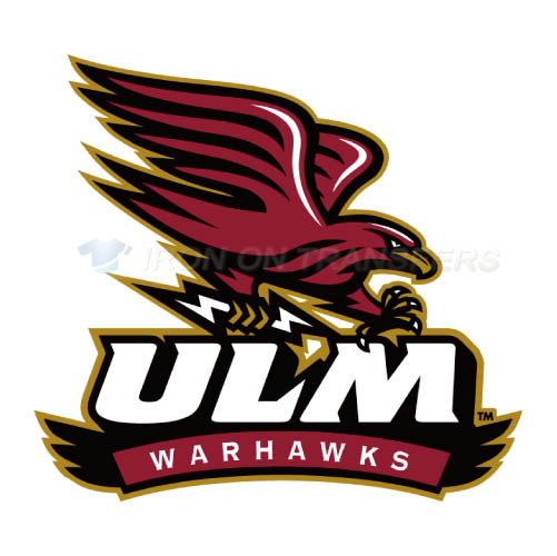 Louisiana Monroe Warhawks Logo T-shirts Iron On Transfers N4822