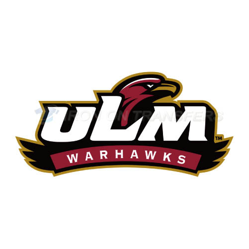 Louisiana Monroe Warhawks Logo T-shirts Iron On Transfers N4827