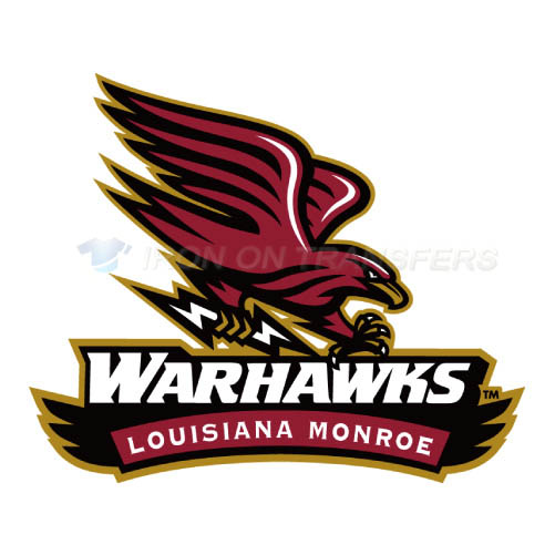 Louisiana Monroe Warhawks Logo T-shirts Iron On Transfers N4835