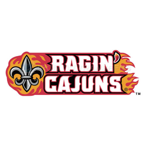 Louisiana Ragin Cajuns Logo T-shirts Iron On Transfers N4841