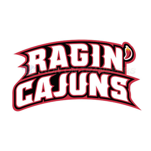 Louisiana Ragin Cajuns Logo T-shirts Iron On Transfers N4843