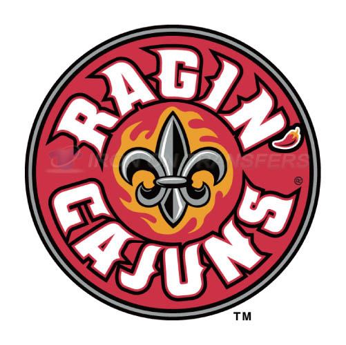 Louisiana Ragin Cajuns Logo T-shirts Iron On Transfers N4844