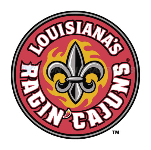 Louisiana Ragin Cajuns Logo T-shirts Iron On Transfers N4845