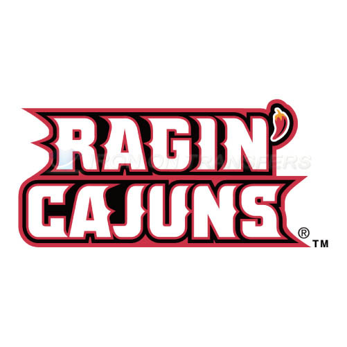 Louisiana Ragin Cajuns Logo T-shirts Iron On Transfers N4847
