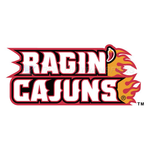 Louisiana Ragin Cajuns Logo T-shirts Iron On Transfers N4849