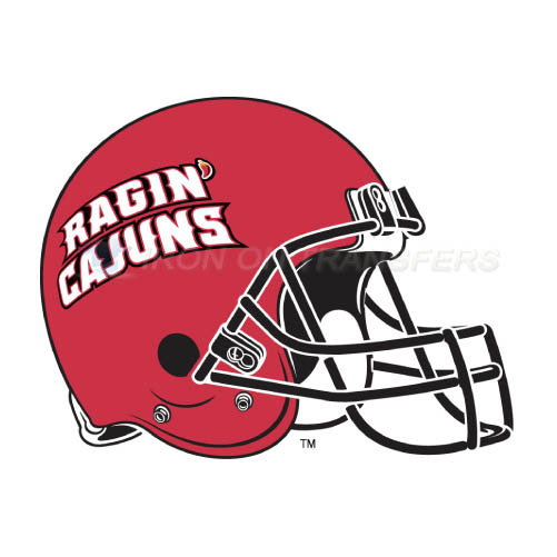 Louisiana Ragin Cajuns Logo T-shirts Iron On Transfers N4850