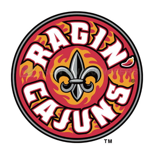 Louisiana Ragin Cajuns Logo T-shirts Iron On Transfers N4851