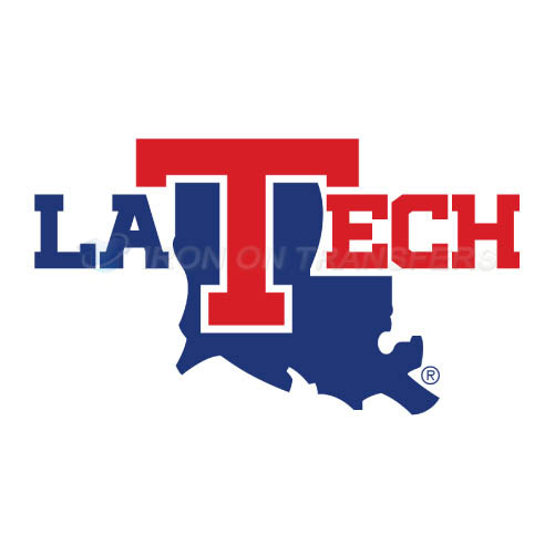 Louisiana Tech Bulldogs Logo T-shirts Iron On Transfers N4855