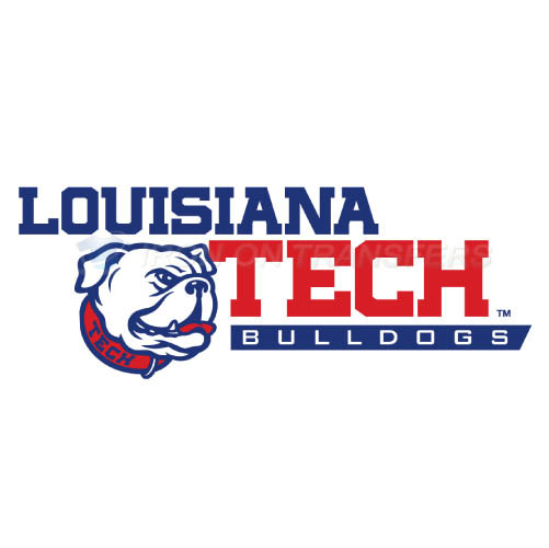 Louisiana Tech Bulldogs Logo T-shirts Iron On Transfers N4856