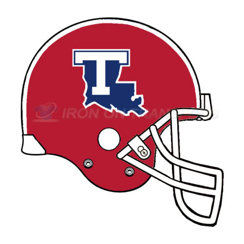 Louisiana Tech Bulldogs Logo T-shirts Iron On Transfers N4860
