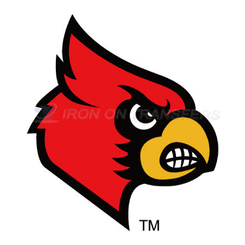 Louisville Cardinals Logo T-shirts Iron On Transfers N4861