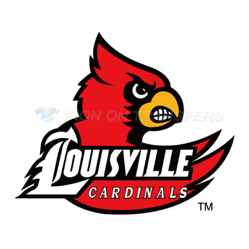 Louisville Cardinals Logo T-shirts Iron On Transfers N4866