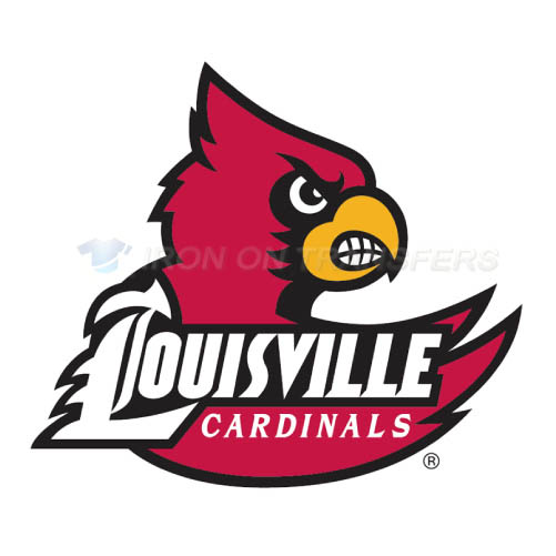 Louisville Cardinals Logo T-shirts Iron On Transfers N4870
