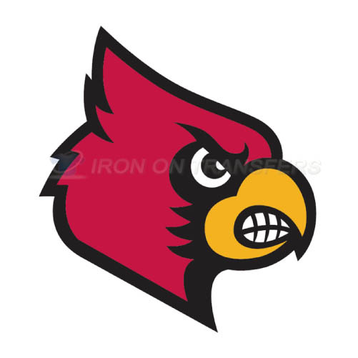 Louisville Cardinals Logo T-shirts Iron On Transfers N4873