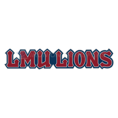 Loyola Marymount Lions Logo T-shirts Iron On Transfers N4899