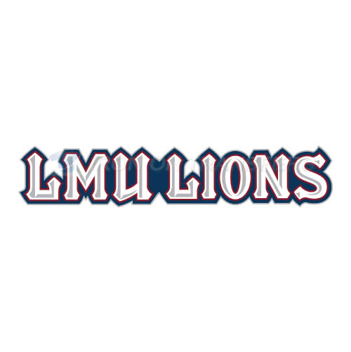 Loyola Marymount Lions Logo T-shirts Iron On Transfers N4900