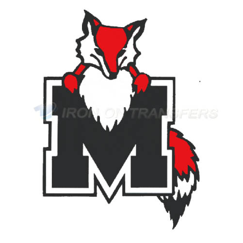 Marist Red Foxes Logo T-shirts Iron On Transfers N4955