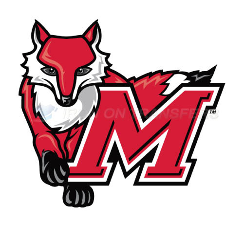 Marist Red Foxes Logo T-shirts Iron On Transfers N4956