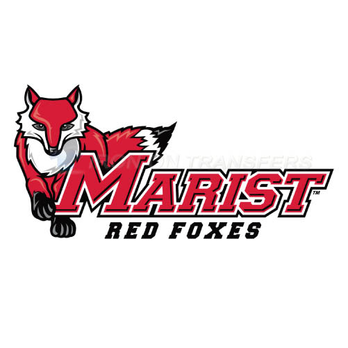 Marist Red Foxes Logo T-shirts Iron On Transfers N4957