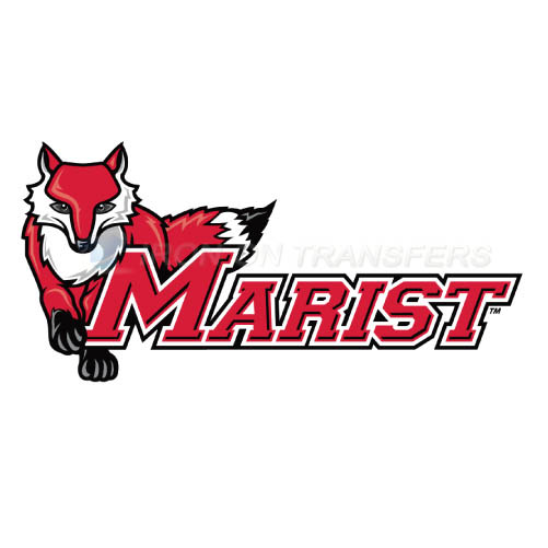 Marist Red Foxes Logo T-shirts Iron On Transfers N4960